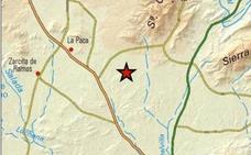Registrados 5 pequeños terremotos en el entorno de la pedanía de La Paca