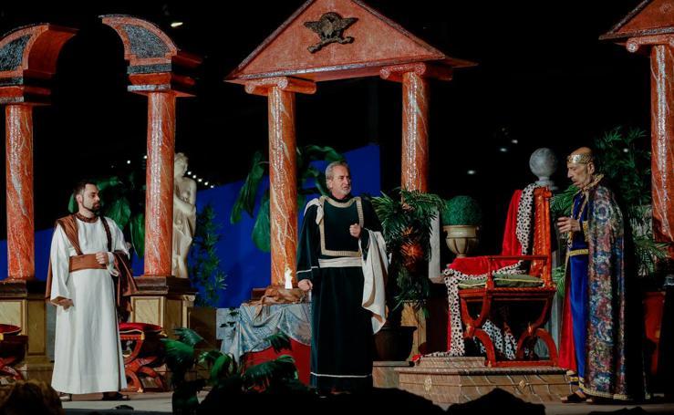 El Auto de Reyes de Churra se traslada al Jardín de la Seda
