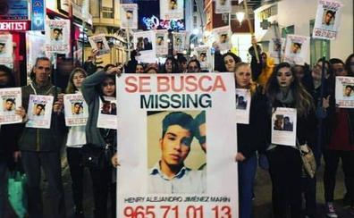 Continúa la búsqueda del joven desaparecido en Nochevieja en Campoamor