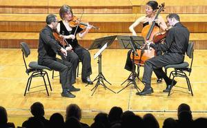 La elegancia del Cuarteto Brentano