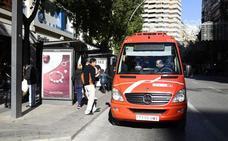 El uso de los autobuses 'coloraos' durante la Navidad aumentó un 9%