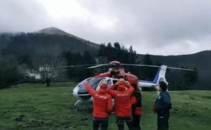 Encuentran el cuerpo de uno de los tripulantes de la avioneta siniestrada en Guipúzcoa