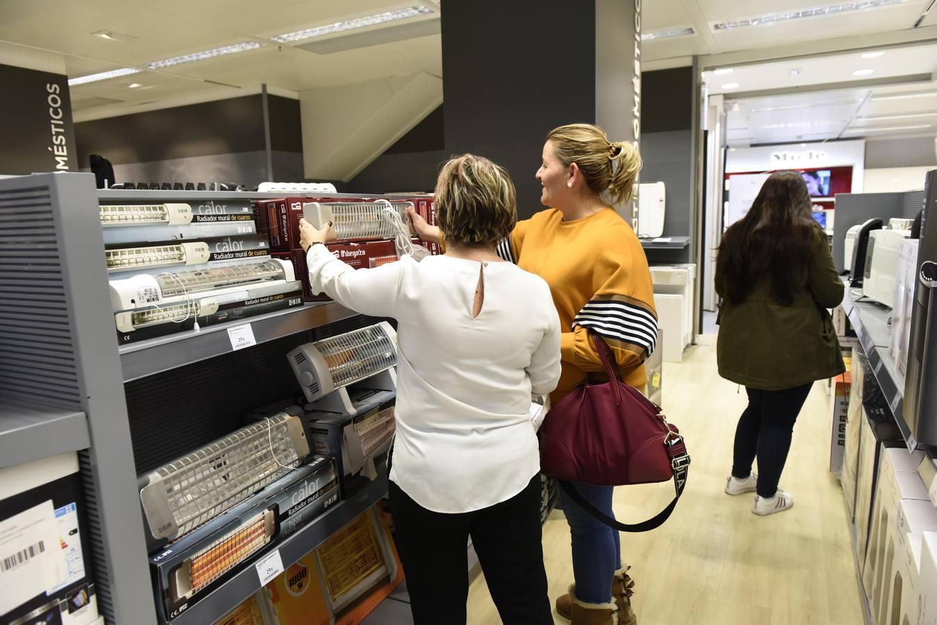 Las ventas de artículos de calefacción se duplican en Murcia