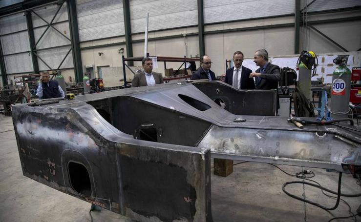 La empresa cartagenera Herjimar, primera de la Región en construir cajas de vagones de tren