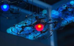 Peligro, drones en el aeropuerto