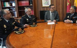 Tres comisarios de la Policía Nacional asumen funciones vacantes de coordinación y dirección en la Región