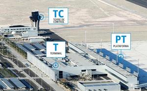 Visita virtual al Aeropuerto Internacional Región de Murcia