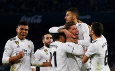Ceballos obra el milagro de un Madrid sin fútbol