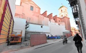 El recinto histórico lucirá el primer jardín vertical antes de la llegada de la primavera