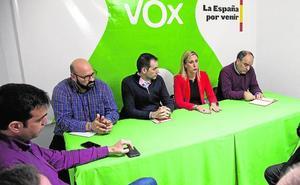Vox pone rumbo hacia el Palacio Consistorial