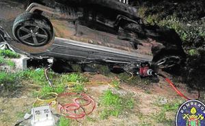 Muere un conductor que se precipitó por un terraplén en Cartagena