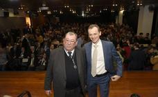 Pedro Duque en el Aula de Cultura de Cajamurcia