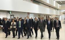 El Rey Felipe VI preside la inauguración del aeródromo internacional Juan de la Cierva