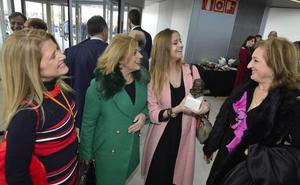 Representantes de la sociedad murciana se dan cita en la inauguración del aeropuerto de Corvera