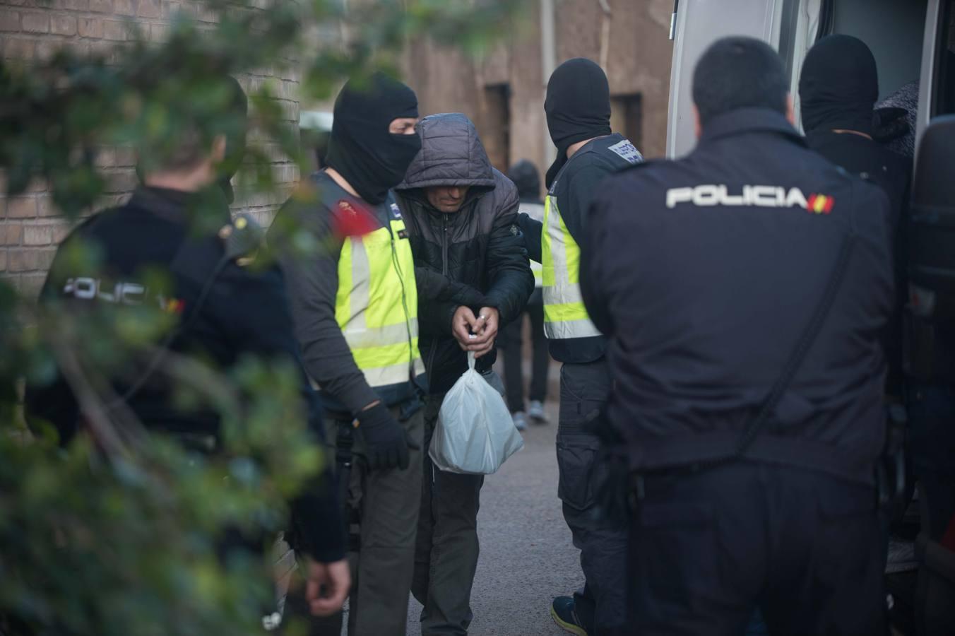 La Policía Nacional detiene a diez personas en una redada antidroga en Los Mateos