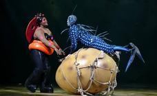 Los bichos del Circo del Sol invaden el Palacio