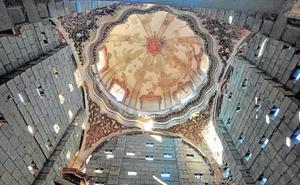 Las pinturas del santuario de Lorca reciben 378.000 euros para su restauración