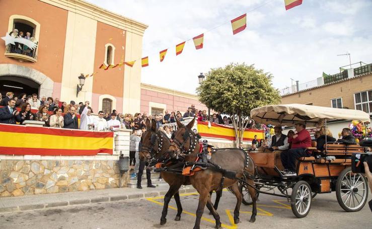 El barrio cartagenero de San Antón celebra su día grande de las fiestas patronales