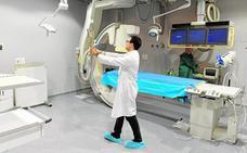 El hospital de Molina dispone ya de un quirófano híbrido en la nueva unidad endovascular