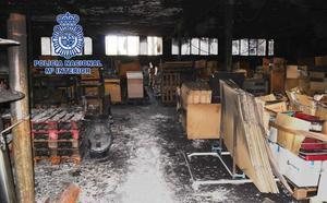 Detenidos seis menores en Yecla por incendios que causaron daños valorados en 100.000 euros