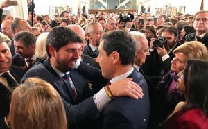 López Miras: «La presidencia de Juanma Moreno en Andalucía va a influir positivamente en la Región de Murcia»