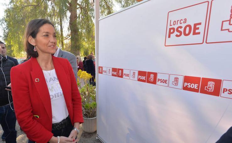 La ministra de Turismo visita Lorca