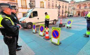 Renuevan la logística de señalización de la Policía