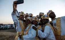 Festival cristiano en Etiopía