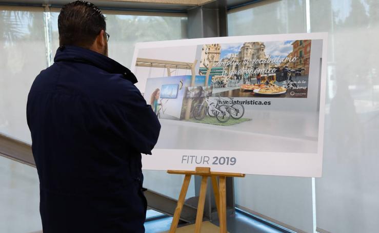 El aeropuerto encabezará la apuesta regional para marcar «un antes y un después» en Fitur