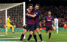El Barça vence con nueva polémica del VAR