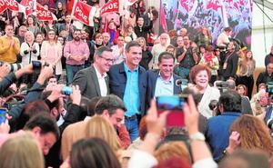 Sánchez se postula como la alternativa moderada a la derecha «retrógrada»