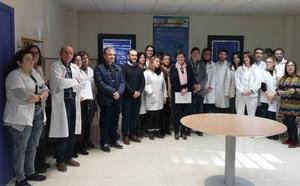 El Centro de Salud de Calasparra, pionero en atención a pacientes inmovilizados