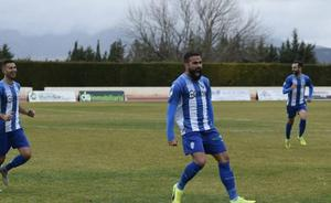 El futbolista Manu Miquel, protagonista de una historia de superación que duró justo un año