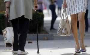 La pensión de viudedad subirá 33 euros al mes para 8.000 personas en la Región