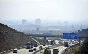 Los murcianos respiraron aire contaminado durante 3 meses en 2018