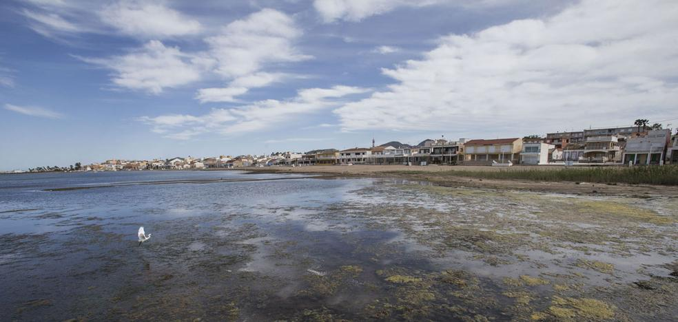 El Ministerio solo prevé 12 millones para la recuperación del Mar Menor