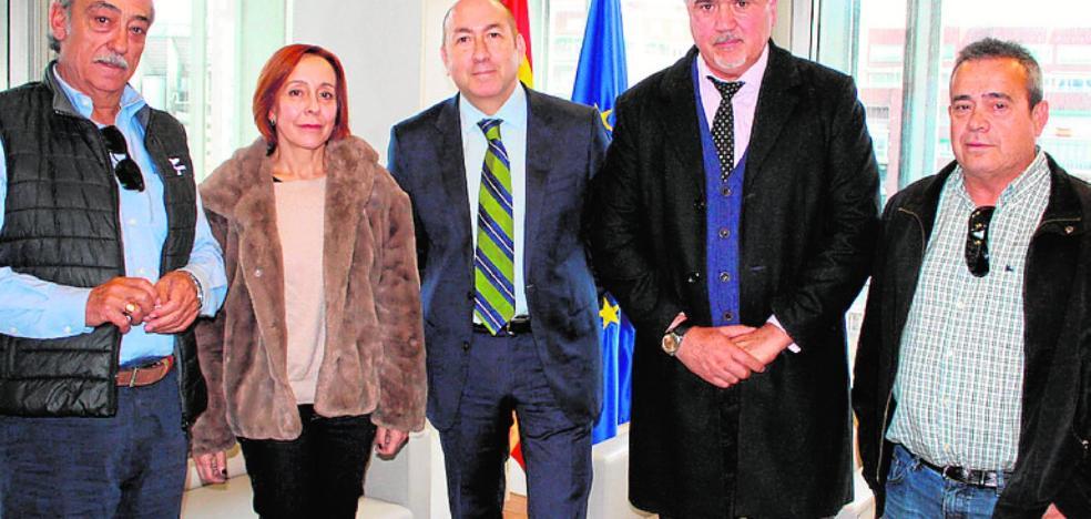 El regidor de Moratalla busca respaldo en Madrid para impulsar el polígono de Los Alderetes