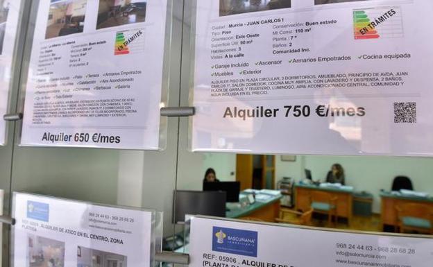 Alquiler en Murcia  Las inmobiliarias piden seguridad jurídica tras ... c6d2740ae13ca