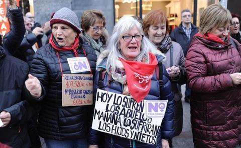 El Banco de España urge a los políticos a clarificar «cuanto antes» cómo se van a sostener las pensiones