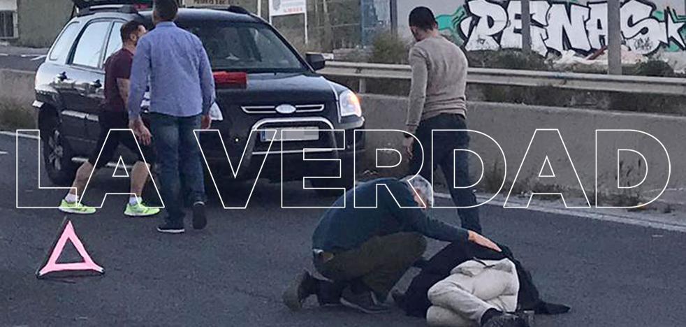 Detienen a un conductor que atropelló a un policía nacional al darse a la fuga en un control