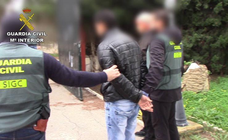 La 'operación guardería', se salda con cinco detenidos en Cádiz