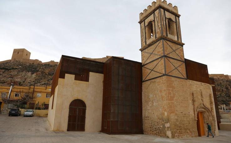 La Comunidad recupera la iglesia de San Pedro de Lorca