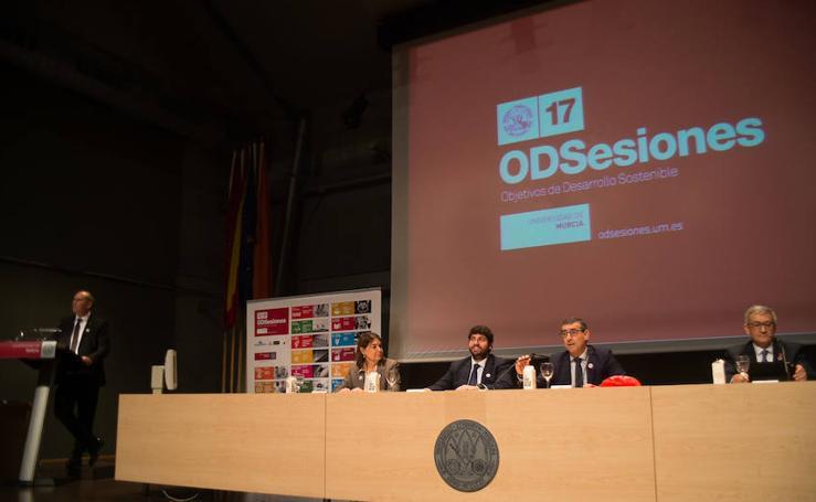 La Universidad de Murcia arranca el proyecto 'ODSesiones' por el desarrollo sostenible