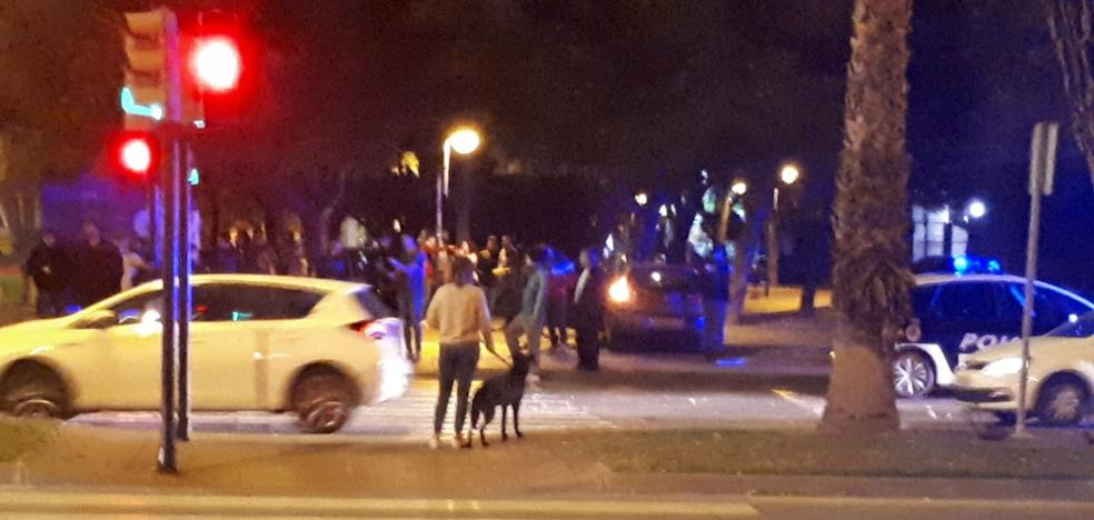 Buscan a un conductor por darse a la fuga tras provocar un accidente en Murcia