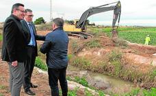 La CHS mejora dos canales de drenaje para paliar las riadas en el Mar Menor