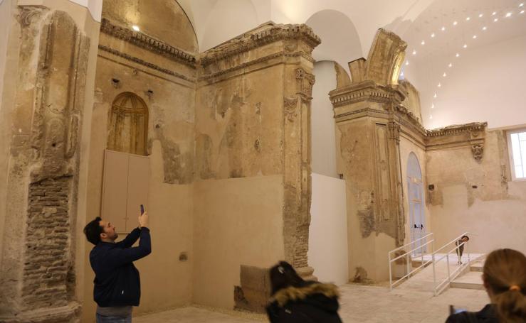 La iglesia de San Pedro recupera sus volúmenes originales tras la rehabilitación
