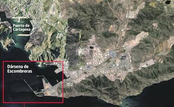 Proyecto de nuevo muelle de contenedores en la Dársena de Escombreras