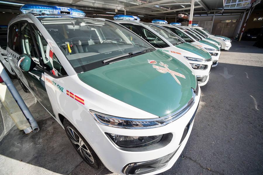 La Guardia Civil refuerza sus unidades de seguridad ciudadana con 22 nuevos vehículos