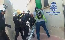 Un traficante de Lorca utilizaba una bombona de gas para ocultar droga