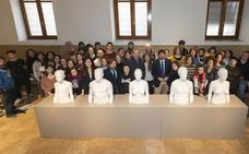 Las esculturas de Antonio López se exhibirán en el Museo de Arte Moderno de Cartagena